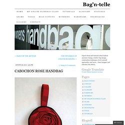 CABOCHON ROSE HANDBAG