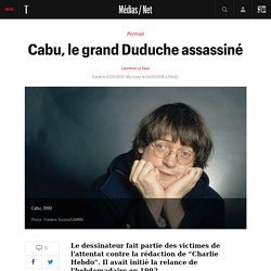 Cabu, le grand Duduche assassiné