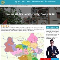 Các dự án bất động sản tại huyện Đan Phượng, Hà Nội - Ngô Quốc Dũng