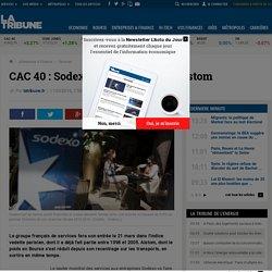 CAC 40: Sodexo prend la place d'Alstom
