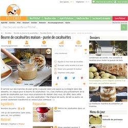 Beurre de cacahuètes maison - purée de cacahuètes