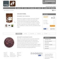 Organic Cacao Nibs - Certified Organic, Raw, Kosher - Navitas Naturals
