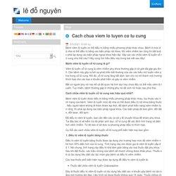 Cach chua viem lo tuyen co tu cung - Welcome - Κοινωνική Φροντίδα