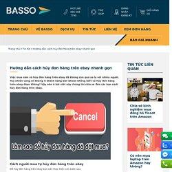 Việc mua sắm và hủy đơn hàng trên ebay đã không còn quá xa lạ với nhiều người. Tuy nhiên cũng có không ít khách hàng băn khoăn không biết có hủy đơn hàng trên ebay được không? Vậy nên ở bài viết này chúng tôi chia sẻ đến các bạn cách hủy đơn hàng trên eba