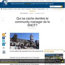 Qui se cache derrière le community manager de la SNCF?