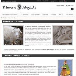 Cachemire ou Pashmina ? - Le Pashmina 100% Cachemire de Luxe par Princesse Moghole