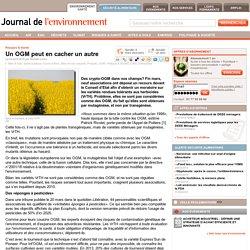 JDLE 03/04/15 Un OGM peut en cacher un autre