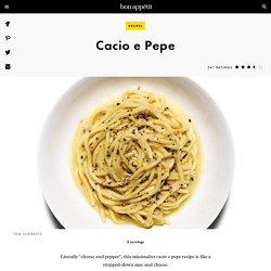 Cacio e Pepe Recipe