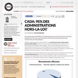 CADA: 95% des administrations hors-la-loi? » Article » OWNI, Digital Journalism
