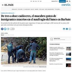 El macabro goteo de inmigrantes muertos en el naufragio en Barbate