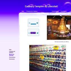 Cadbury - Marché du chocolat