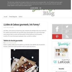 13 idées de cadeaux gourmands, très Yummy