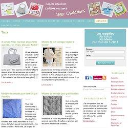 Tricot - cartes faire-part cadeaux naissance - VHD Créations