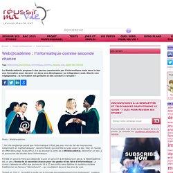 Web@cadémie : l'informatique comme seconde chance