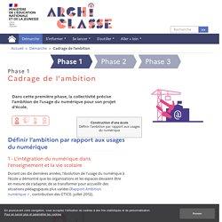 Cadrage de l'ambition - Archiclasse