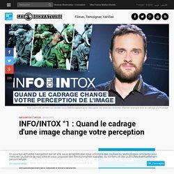 INFO/INTOX °1: Quand le cadrage d'une image change votre perception