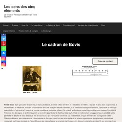 Le Cadran de Bovis - Les sens des cinq éléments
