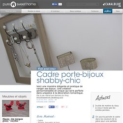bijoux et pr sentoirs ds recup pearltrees. Black Bedroom Furniture Sets. Home Design Ideas