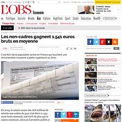 Les non-cadres gagnent 1.541 euros bruts en moyenne - L'Obs
