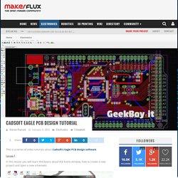 Cadsoft Eagle PCB design tutorial