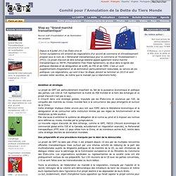 """Stop au """"Grand marché transatlantique"""""""