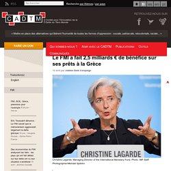 Le FMI a fait 2,5 milliards € de bénéfice sur ses prêts à la Grèce