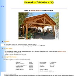 Cadwork – Initiation – 3D