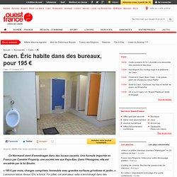 Caen. Éric habite dans des bureaux, pour 195€ - Caen - Logement