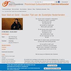 Voor God en Geld - Gouden Tijd van de Zuidelijke Nederlanden
