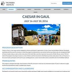 Caesar in Gaul - Paideia Institute