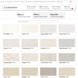 Caesarstone Colour Collection