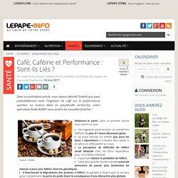 Café, Caféine et Performance : Sont-ils Liés
