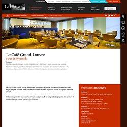Le Café Grand Louvre