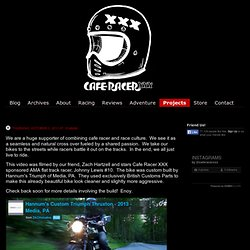 CafeRacer.XXX - Projects