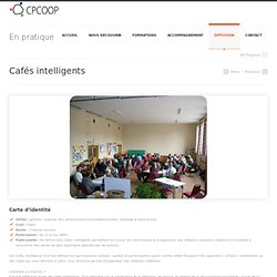 Cafés intelligents