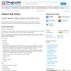 Caffeine Side Effects