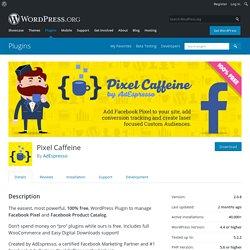 Pixel Caffeine – WordPress plugin