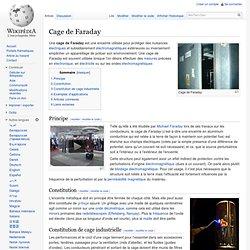 Cage de Faraday