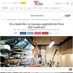 Abri, le cagibistrot à petit prix qui ébouriffe à Paris 10e - L'Express Styles