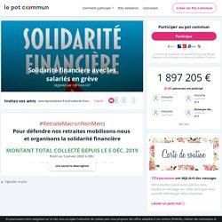 Cagnotte en ligne CGT : le pot commun pour les salariés en grève