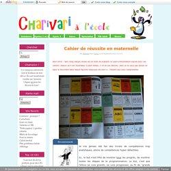 Ceintures de couleurs et cahier de progrès en maternelle