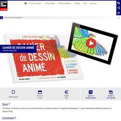 Cahier de Dessin Animé - Futur en Seine 2015