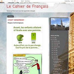 Le Cahier de Français: febrero 2013
