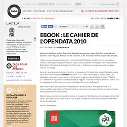 Ebook : le cahier de l'OpenData 2010 » Article » OWNI, Digital Journalism