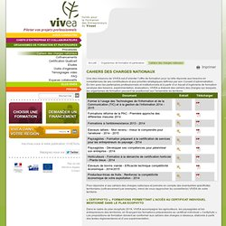 Cahiers des charges nationaux - Vivéa