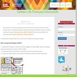 Cahiers de Français Interactifs