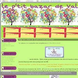 rallye liens cahiers de réussite et livrets d'évaluation - le p'tit bazar de Valecou en CM2