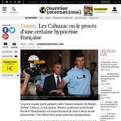 France. Les Cahuzac ou le procès d'une certaine hypocrisie française