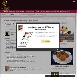 Caillette Provençale, recette Caillette Provençale