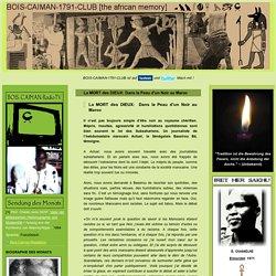 La MORT des DIEUX: Dans la Peau d'un Noir au Maroc
